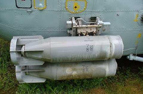 Bom còn có thể được treo ở…đuôi máy bay