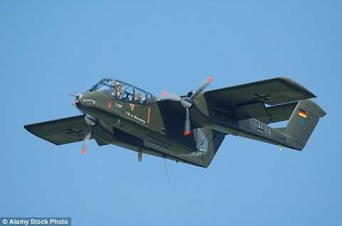 2 máy bay cổ OV-10 Broncos từng thực hiện 120 nhiệm vụ chiến đấu ở Trung Đông