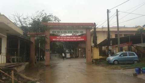 Bệnh viện Đa khoa huyện Thường Xuân - nơi xảy ra vụ việc bệnh nhân Lương Thị Hương tử vong bất thường - Ảnh: Hà Đồng