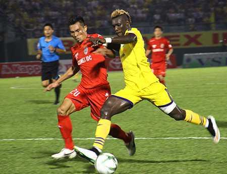 SLNA thắng Bình Dương được cho là bất ngờ của vòng 3 V-League