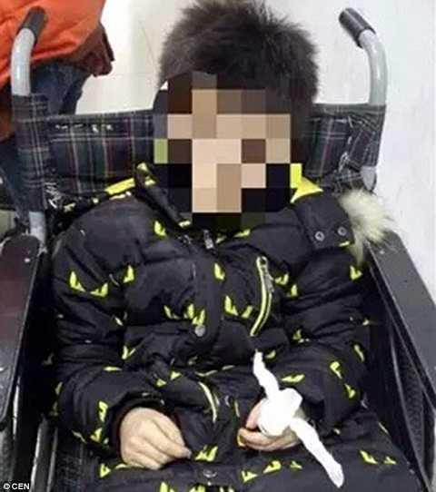 Cậu bé đã được vào bệnh viện ngay sau đó