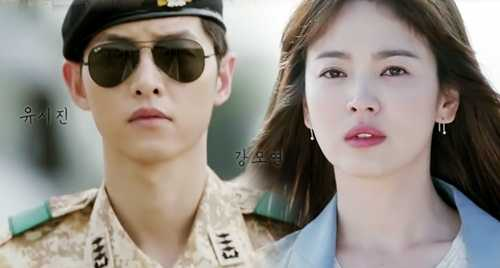 Song Joong Ki và Song Hy Kyo trở thành cặp đôi tiên đồng ngọc nữ của Hậu duệ mặt trời