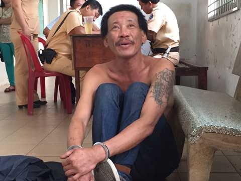 Trịnh Hữu Đông tại cơ quan điều tra.