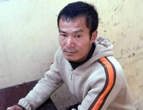 Đối tượng Nguyễn Quang Tuấn tại cơ quan điều tra