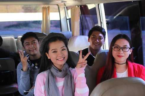 Khánh Hiền vào vai bạn gái của Trường Giang trong phim 'Taxi, em tên gì?'