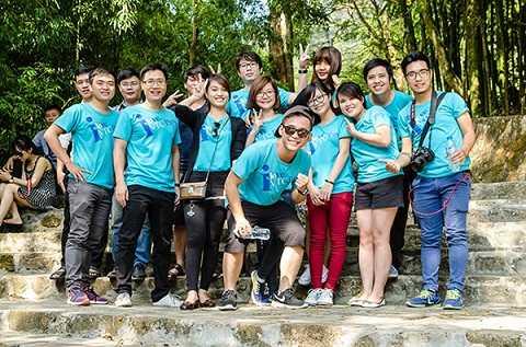 Gia đình VTC Pay tham gia hoạt động Team building tại Tam Đảo, Vĩnh Phúc