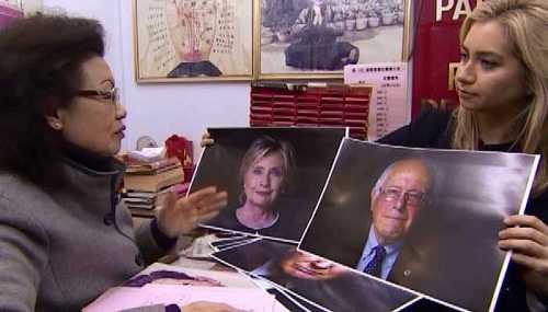 Thầy bói Priscilla Lam xem vận may của các ứng cử viên Tổng thống Mỹ qua khuôn mặt và ngày sinh.