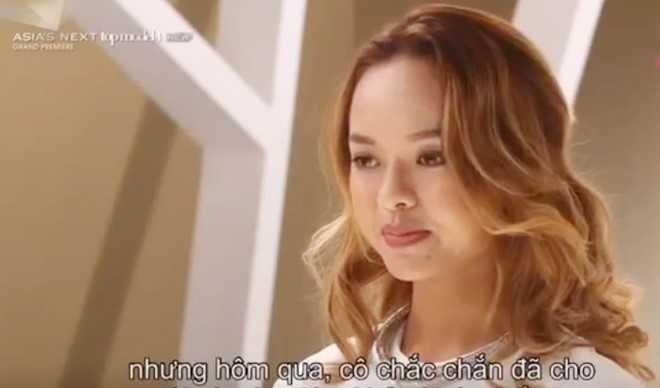 Quỳnh Mai là thí sinh bị ghét nhất trong tập một. Ảnh chụp màn hình