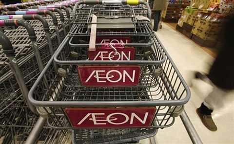 Aeon là hãng bán lẻ hàng đầu Nhật Bản. Ảnh: Reuters