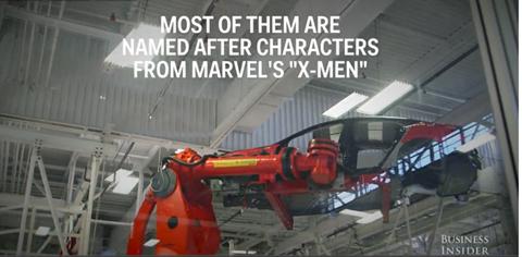 Thậm chí, nhiều robot khổng lồ tại đây được ví như những nhân vật trong bộ phim