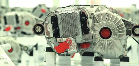 Động cơ xe hơi của Tesla