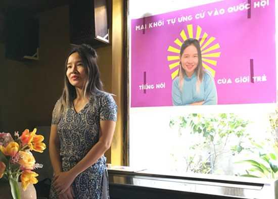 Mai Khôi tự ứng cử đại biểu Quốc hội khoá 14.