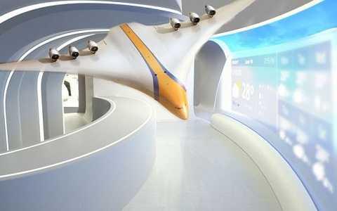 Hé lộ thông tin về mô hình máy bay tương lai. Ảnh Mirror