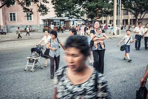 Đường phố Bình Nhưỡng luôn rất sạch sẽ