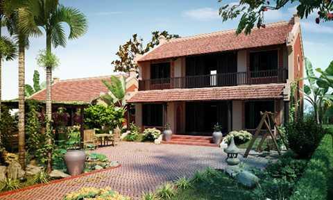 Khu biệt thự nghỉ dưỡng Điền Viên   Thôn được mua bán, giao dịch với giá tiền tỷ trên thị trường từ nhiều   năm nay chủ yếu thông qua giấy viết tay.