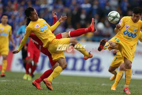 FLC Thanh Hóa toàn thắng 3 trận đầu mùa (Ảnh: Quang Minh)