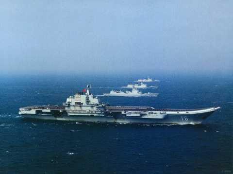 Biên đội tàu sân bay Liêu Ninh, Hải quân Trung Quốc.