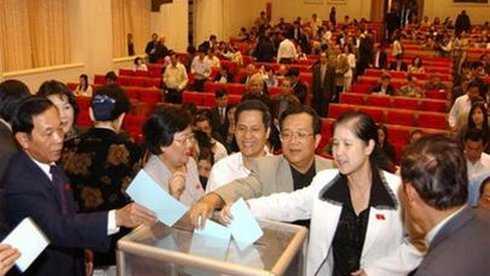 Ủy ban bầu cử thành phố Hà Nội thông báo đã tiếp nhận hồ sơ ứng cử đại biểu Quốc hội của 87 người, trong đó có 47 hồ sơ tự ứng cử (ảnh minh họa)