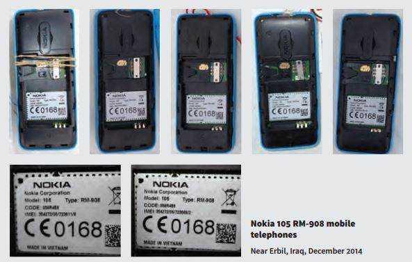 Điện thoại Nokia 105 được IS tin dùng