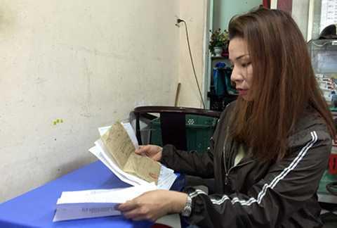 Chị Tạ Thị Thu Trang, người bị trao nhầm 42 năm qua. (ảnh: KT)