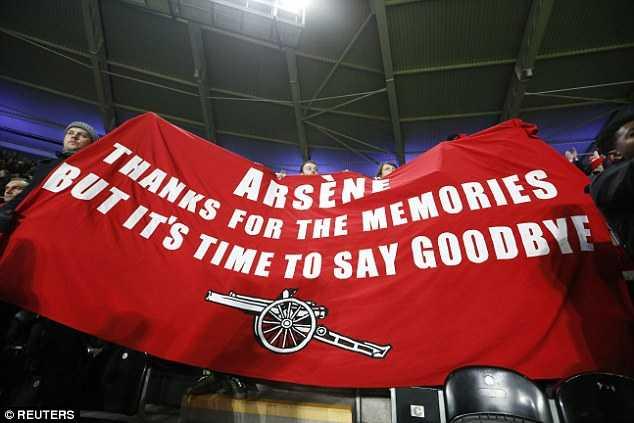 Wenger, cảm ơn nhưng đã đến lúc nói lời tạm biệt