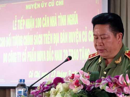 Trung tướng Bùi Văn Thành: