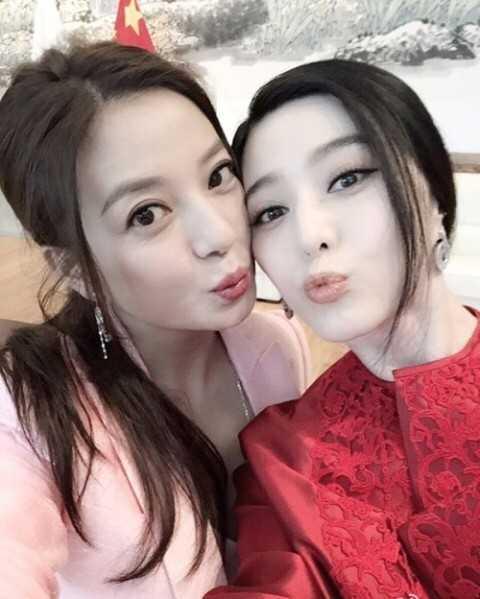 Mối quan hệ của Phạm Băng Băng và Triệu Vy từng bị đồn bất hòa.