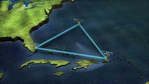 Tam giác Bermuda ở tây bắc Đại Tây Dương