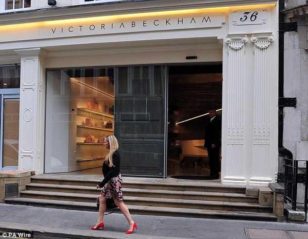 Cửa hàng sành điệu của Victoria Beckham