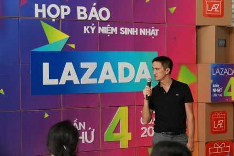 CEO Lazada Việt Nam cho biết sẽ nâng cao chất lượng chủng loại sản phẩm tại sàn TMĐT Lazada.vn