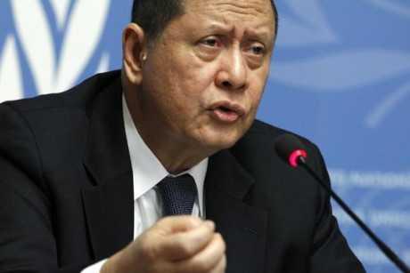 Đặc phái viên LHQ về tình hình nhân quyền Triều Tiên Marzuki Darusman. Ảnh: Reuters