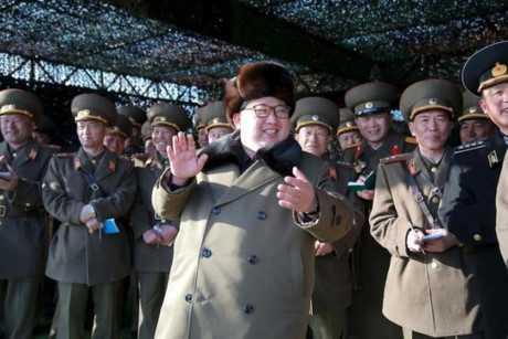 Nhà lãnh đạo Triều Tiên Kim Jong-un và các quan chức cấp cao đang bị kêu gọi truy tố. Ảnh: Reuters