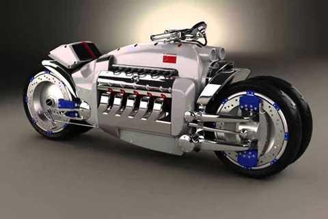 1. Dodge Tomahawk (tốc độ tối đa: 676 km/h).
