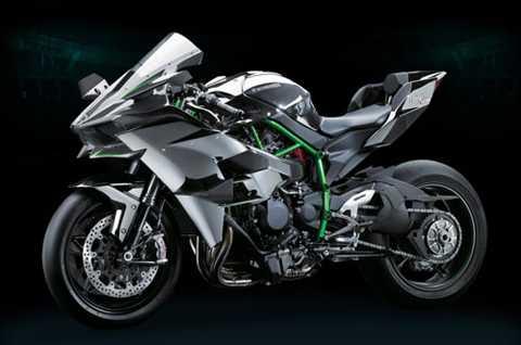 4. Kawasaki Ninja H2R (tốc độ tối đa: 354 km/h).