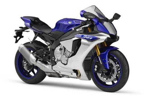 6. Yamaha YZF R1 (tốc độ tối đa: 299 km/h).