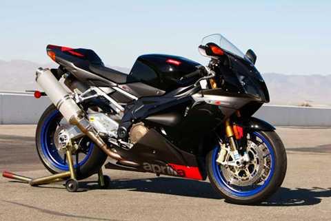 9. Aprilia RSV 1000R Mille (tốc độ tối đa: 282 km/h).