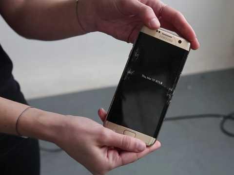 Galaxy S7 sau khi bị