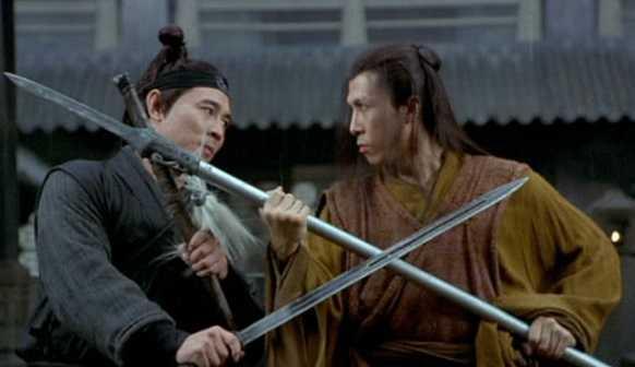 Dù là đồng môn, huynh đệ, nhưng Lý Liên Kiệt - Chân Tử Đan có mối quan hệ rất căng thẳng.