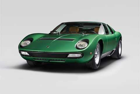 Lamborghini Miura là biểu tượng một thời. (Ảnh: Lamborghini)