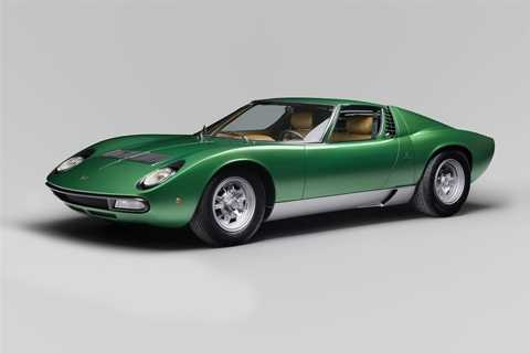 Model Miura SV ra mắt lần đầu năm 1971. (Ảnh: Lamborghini)