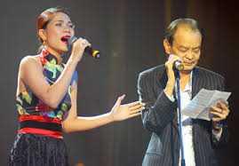 Ca sĩ Mỹ Dung và người thầy Thanh Tùng trên sân khấu từ năm 2008