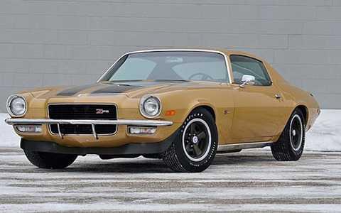 1970 Chevrolet Camaro Z28 có công suất 375 mã lực