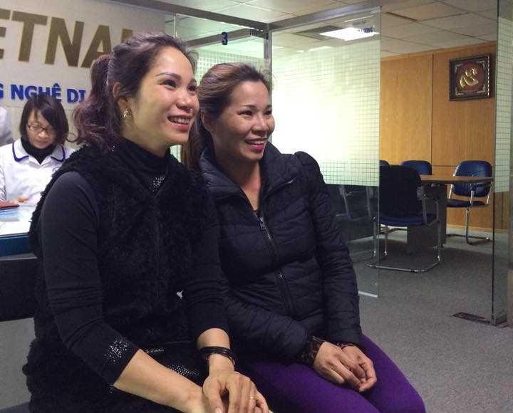 Chị Trang và chị Ngọ rất giống nhau