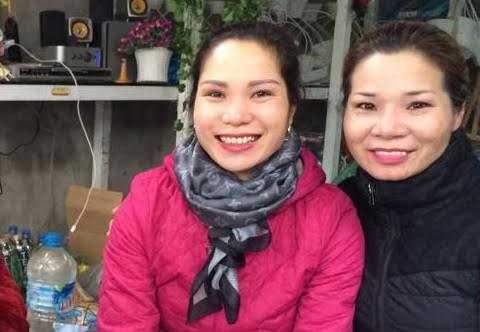 Chị Trang và chị Ngọ giống nhau đến mức mọi người bảo không cần xét nghiệm ADN