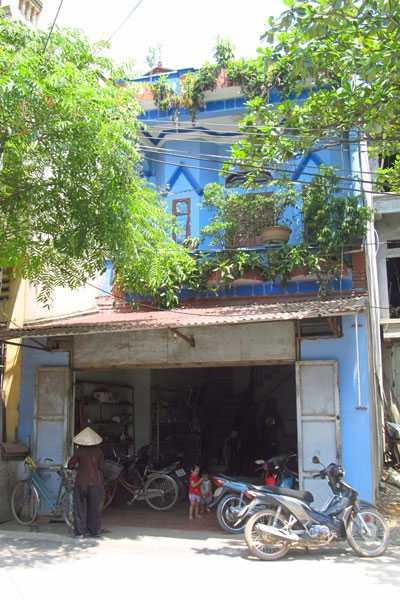 Ngôi nhà hai tầng giữa Phố Chấu của gia đình ông Tĩnh