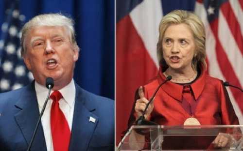 Ông Trump và bà Clinton là hai nhân vật đáng chú ý trong cuộc chạy đua vào Nhà Trắng 2016