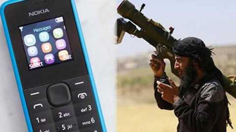 Nokia 105 được IS dùng chế tạo bom kích nổ từ xa.