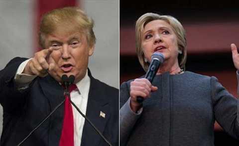 """Bà Clinton và ông Trump đã giành được những chiến thắng quan trọng trong ngày """"Thứ Ba Lớn"""". (Ảnh: Getty)"""