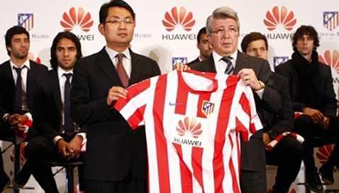 Hoa Vi là nhà tài trợ cho Atletico