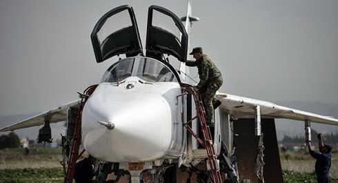 Lực lượng không quân Nga bắt đầu rút khỏi Syria từ ngày 15/3